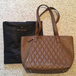Vera Bradley Leather Bag/small tote